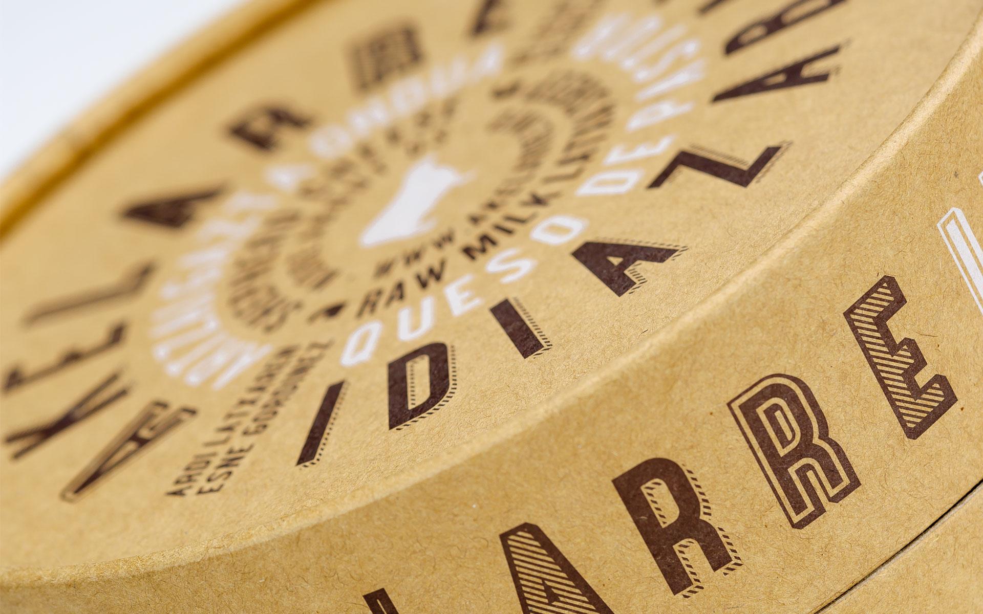 Akelarre Diseño Packaging Queso Idiazábal