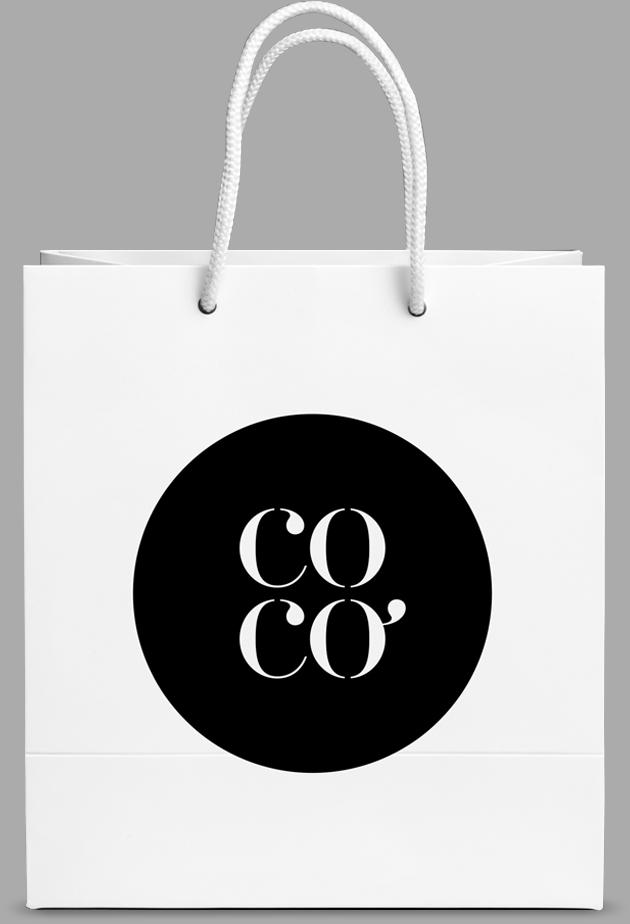 Cocó Diseño Logotipo Logo Gráfica Aplicada Tiendas de ropa