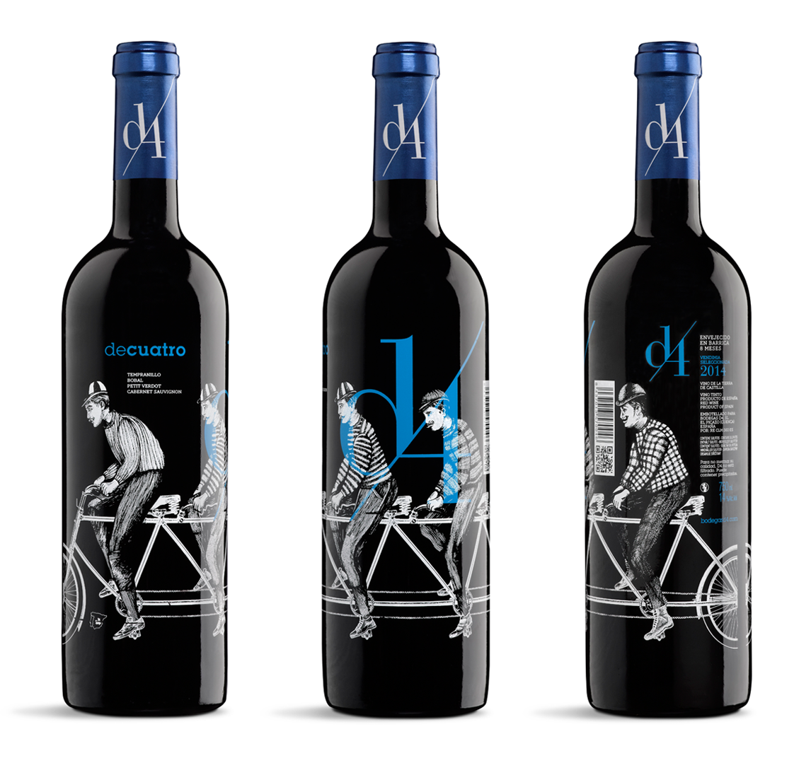 D4 Diseño Packaging Vino Tinto