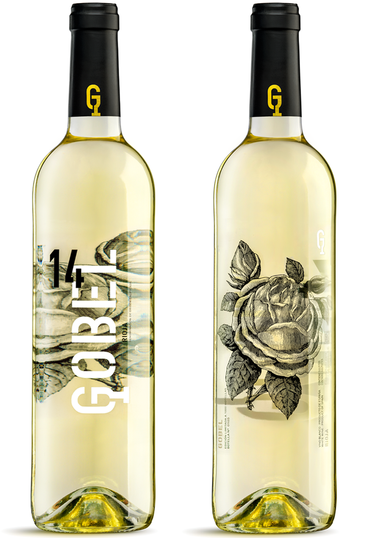 Gobel Diseño Packaging Vino Blanco Rioja