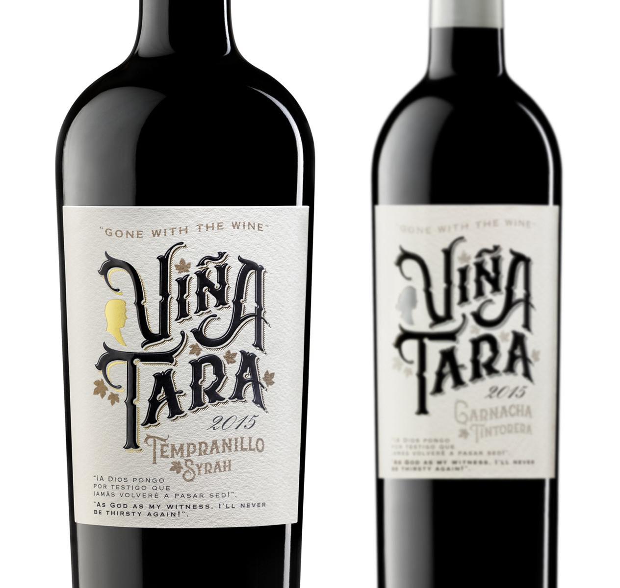 Viña Tara Diseño Packaging Vino Tinto Tempranillo Syrah Garnacha Tintorera