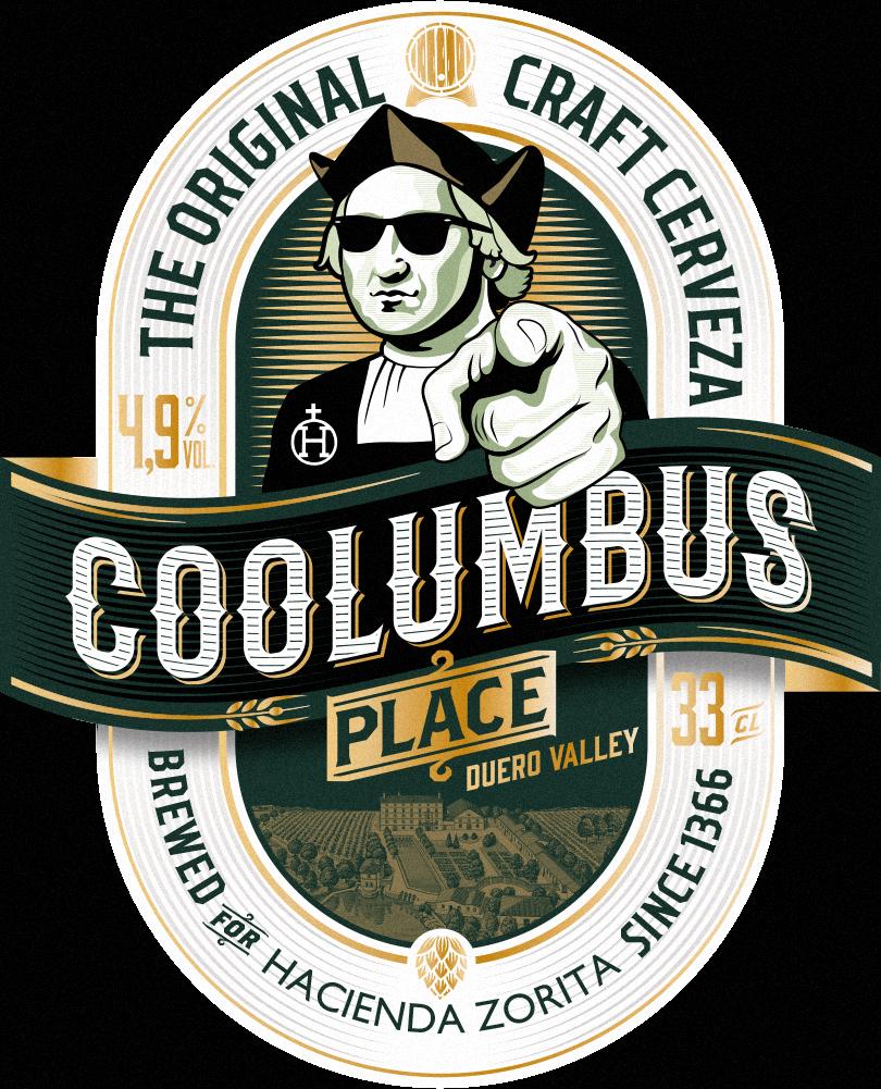 Coolumbus Place Diseño Packaging Etiqueta Cerveza artesana