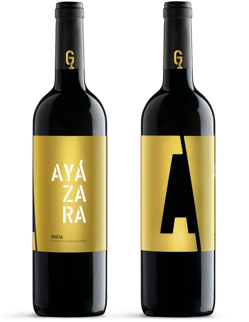 Ayázara Diseño Packaging Vino Tinto Rioja