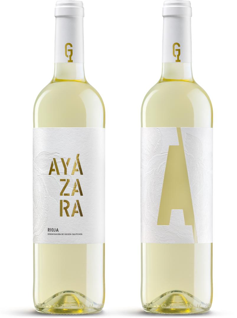 Ayázara Blanco Diseño Packaging Vino Blanco Rioja
