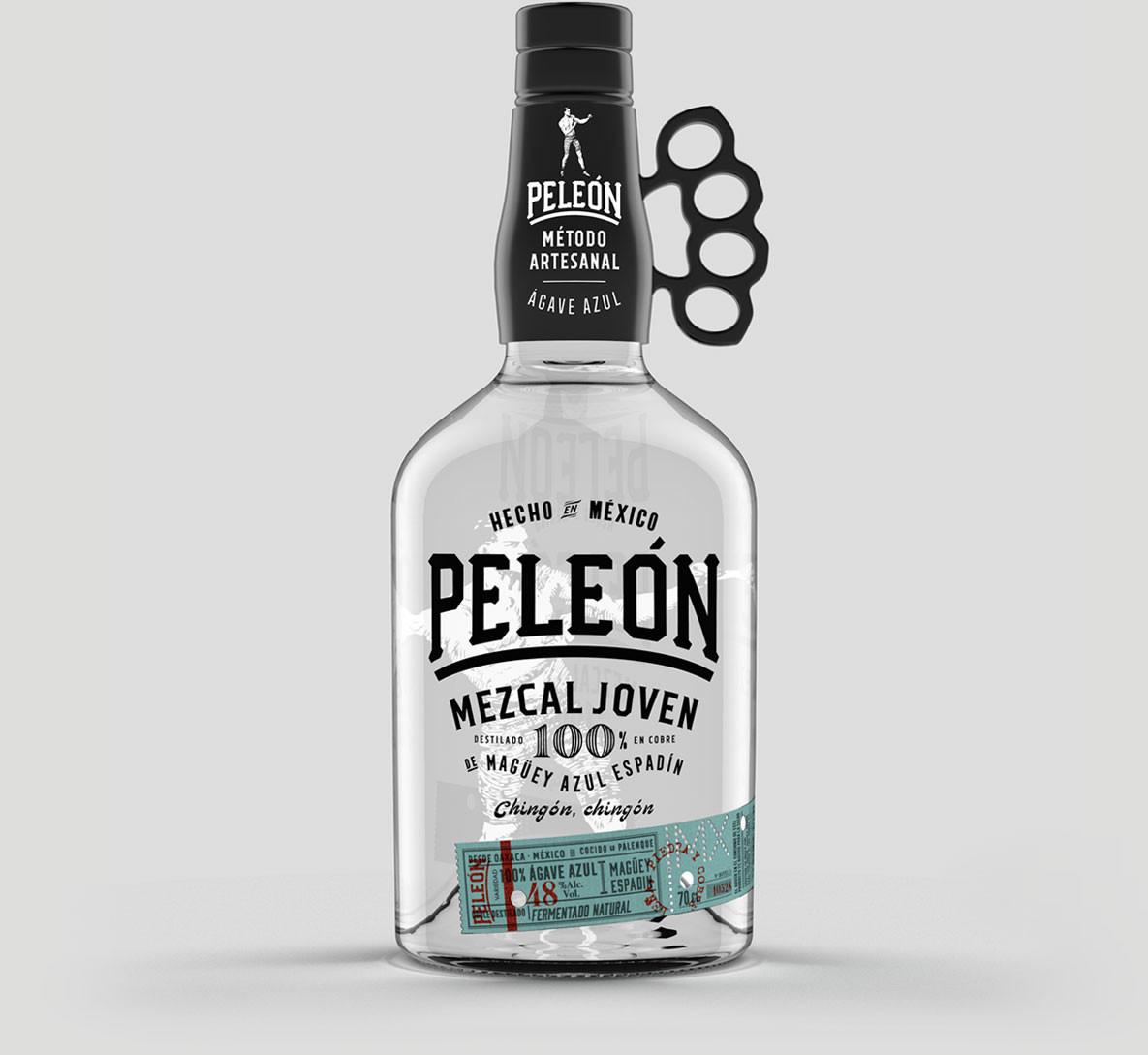 Peleón Diseño Packaging Mezcal Joven México