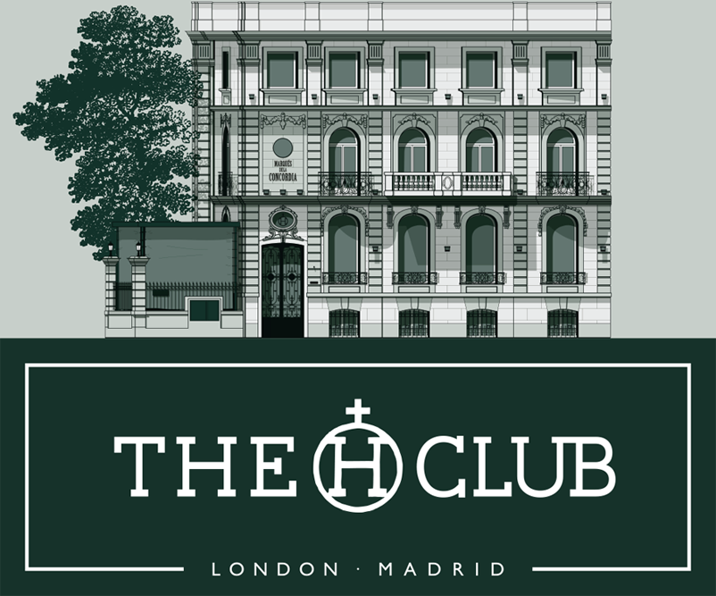 The Club Diseño Logotipo Logo